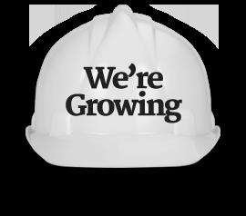 We're Growing