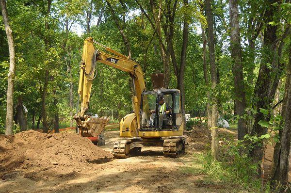 Brown Park Stream Restoration E Z Construction